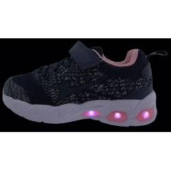 Bacio Bacio Παιδικά Αθλητικά Παπούτσια Running Κορίτσι Με Σκρατς Και Φωτάκι