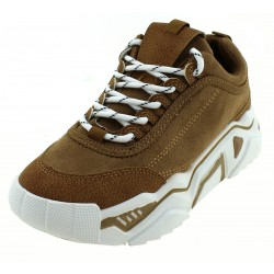 Chunky Sneakers Γυναίκεια 9910 Ideal Shoes Mε Tρακτερωτή Σόλα