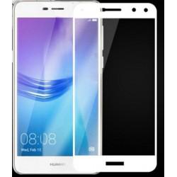Fullscreen Tempered Glass Άσπρο (Huawei Y5 2017/ Huawei Y6 2017/ Nova Young)