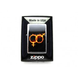 Αναπτήρας zippo - Male & Female Symbol