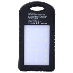 Ηλιακός φορτιστής - Power Bank 18800 mAh Μαύρος