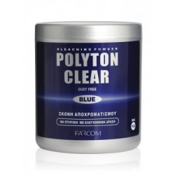 Farcom Polyton clear blue ντεκαπάζ σε σκόνη 500gr