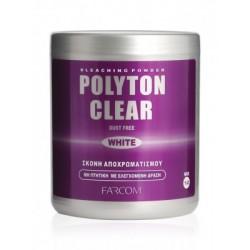 Farcom Polyton clear white ντεκαπάζ σε σκόνη 500gr