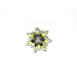 Γυναικείο δαχτυλίδι Κίτρινο λουλούδι