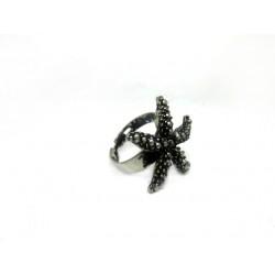 Γυναικείο δαχτυλίδι Αστερίας σε ασημί χρώμα