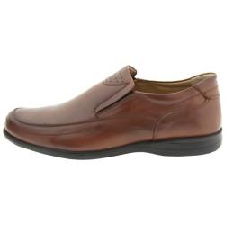 Avar Ayakkabi Ανδρικά Παπούτσια Casual Καφέ Δερμάτινα