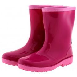 Παιδική γαλότσα ροζ φούξια