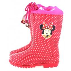 Παιδική γαλότσα κόκκινη πούα Minnie Mouse