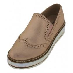 Casual Παντοφλέ Παπούτσια Γυναικεία DIAMANTIQUE Σαμπανιζέ
