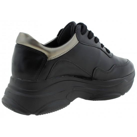 Chunky Γυναικεία Sneakers Mods Plus H8922-1 Μαύρο