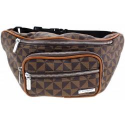 Τσάντα μέσης Bag to Bag καρό