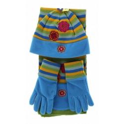 Παιδικό σετ σκουφί κασκόλ & γάντια