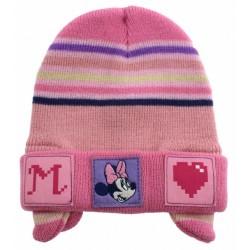 Παιδικό σκουφί με αυτάκια ''Minnie''