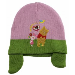 ''Winnie the pooh'' Παιδικό σκουφί με αυτάκια