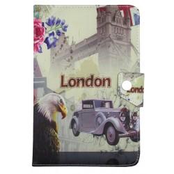 Book Cover Θήκη Tablet Με Σχέδιο London (Universal 9'')
