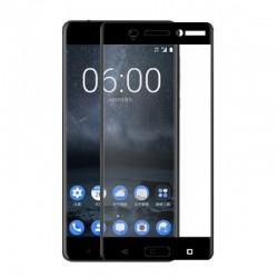 Fullscreen Tempered Glass Μαύρο (Nokia 5)